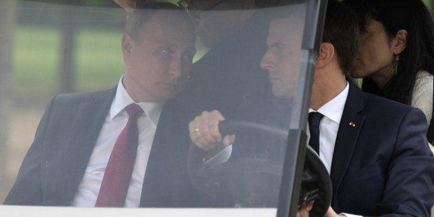 El sibilino golpe de Macron a Rusia que a Putin no le habrá pasado