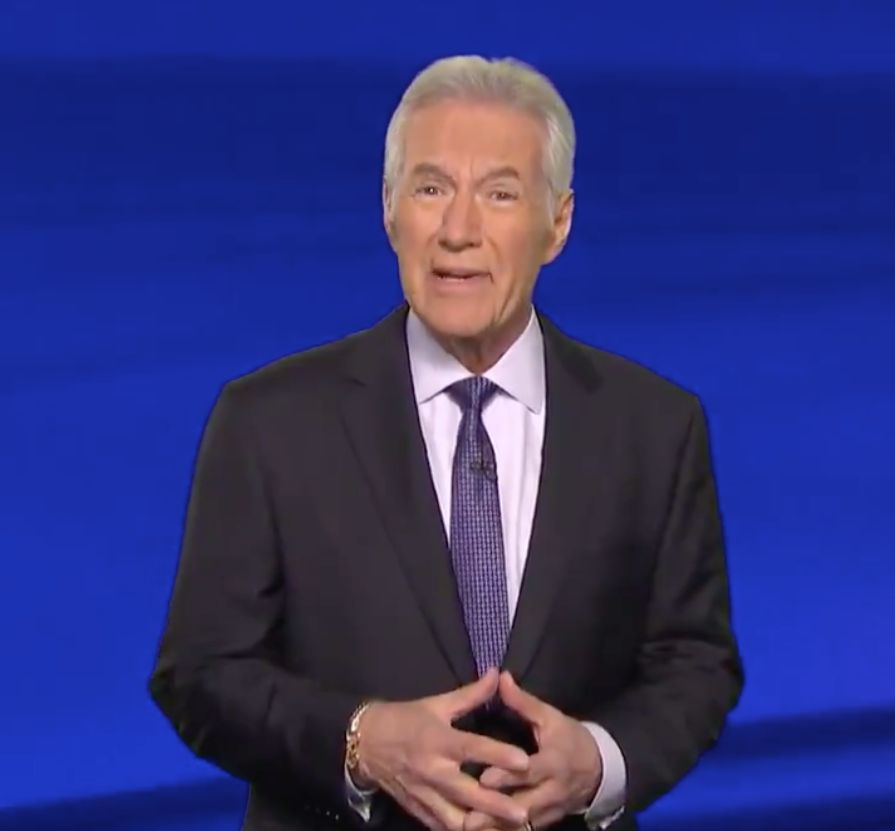 Alex Trebek addresses fan after cancer diagnosis