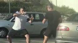 La pelea de tráfico más loca en Málaga arrasa en