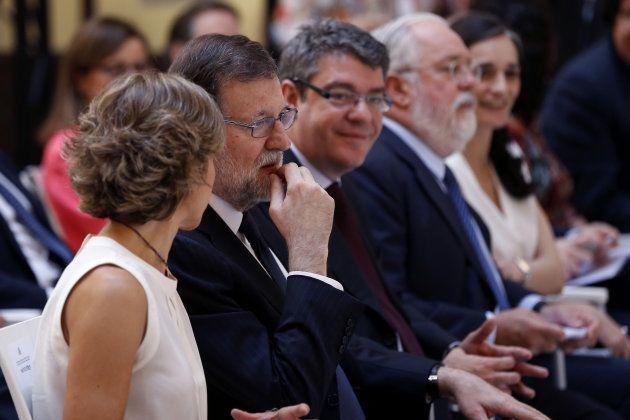 Rajoy en la inauguración de una jornada sobre el Acuerdo de lucha contra el cambio climático de
