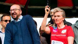 La princesa Astrid deja sordo al primer ministro belga en una carrera