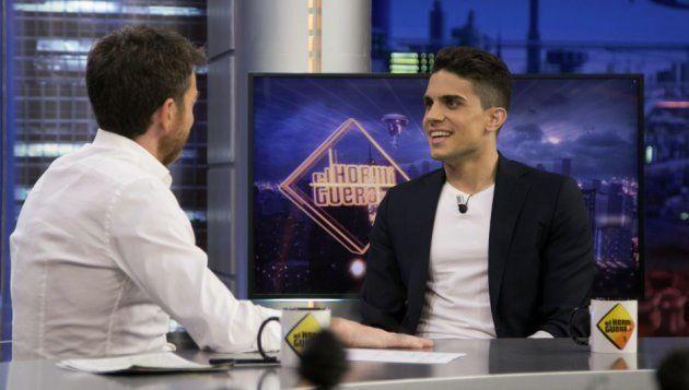 Marc Bartra charla con Pablo Motos en 'El