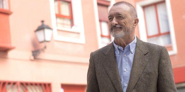 Arturo Pérez-Reverte, retratado en Madrid en 2015, durante la presentación de su libro 'La guerra civil...