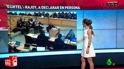 Una presentadora de la Sexta le copia a Letizia la
