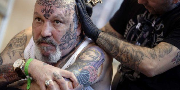 Las imágenes del Mundial del tatuaje de París