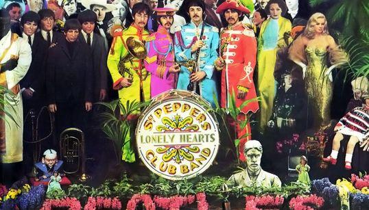 Quién es quién en la portada de 'Sgt. Pepper's Lonely Hearts Club