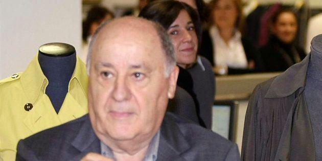 Amancio Ortega, en diciembre de