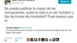 La respuesta de Juan Ramón Lucas a las palabras de Otegui sobre la dimisión de