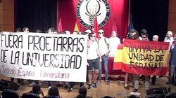 Un grupo de falangistas revienta un acto de los titiriteros de 'Gora Alka-Eta' y César