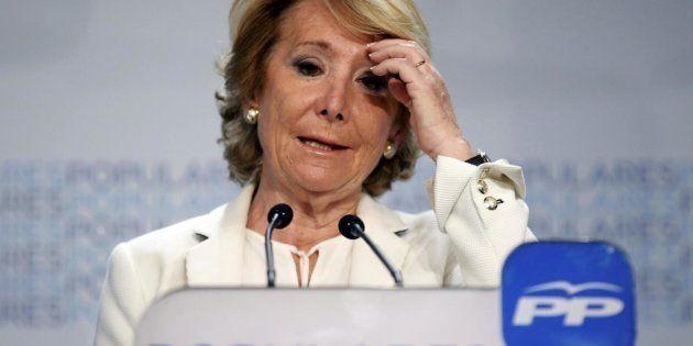 Esperanza Aguirre, en una imagen de