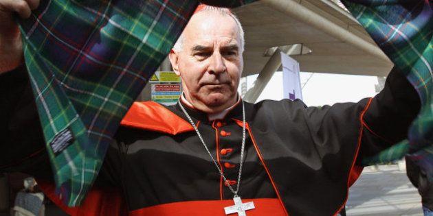 Dimite el cardenal Keith O'Brien: Reino Unido se queda sin representación en el