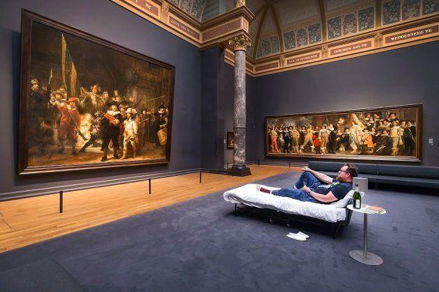 El Rijksmuseum invita a dormir a su visitante 10