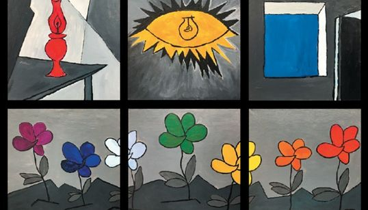 Artistas rusos recuerdan el bombardeo de