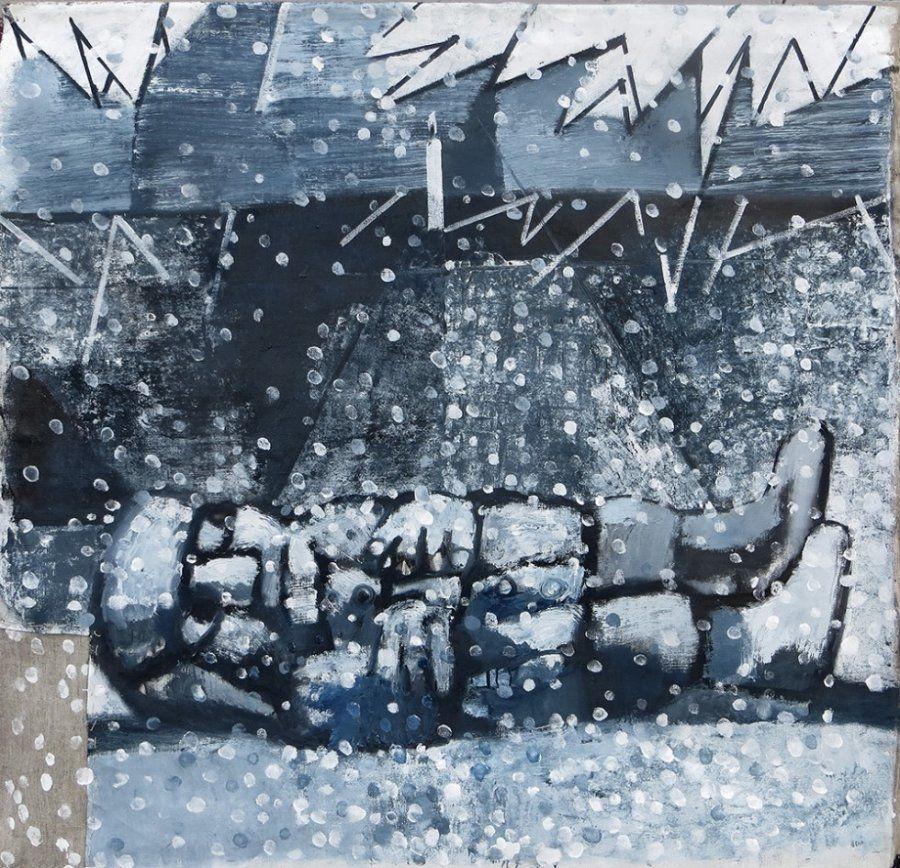 'Invierno. Rusia. Guernica', de Vladímir