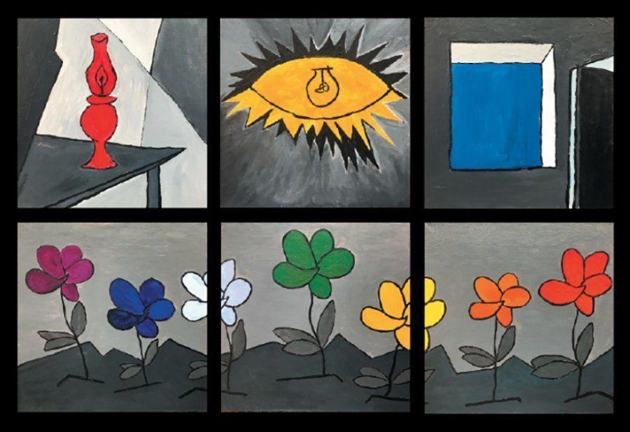 'Guernica. Color. El 'Guernica' en flor, de Tatiana