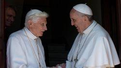 Dos papas conviven en el Vaticano por primera vez en la