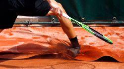 Espeluznante lesión del belga David Goffin en Roland