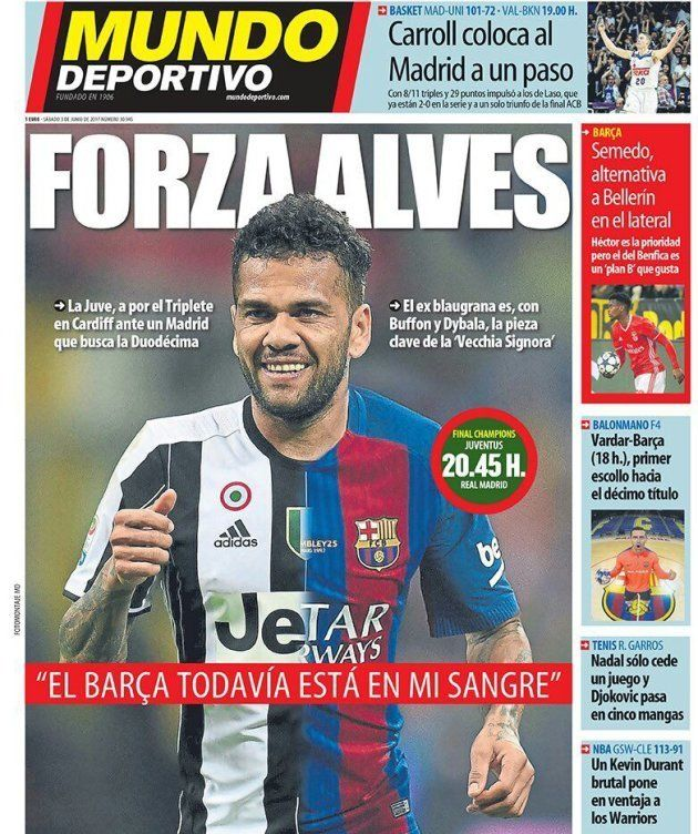 Las portadas de la prensa del Barça con motivo de la final de la
