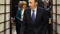 Rubalcaba anuncia que gana 55.000 euros sin
