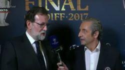 Rajoy se viene arriba con Pedrerol y le suelta esto sobre su