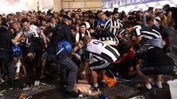 Una estampida de hinchas de la Juventus provoca 400 heridos en