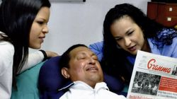 Primeras fotos de Chávez en dos meses (FOTOS,
