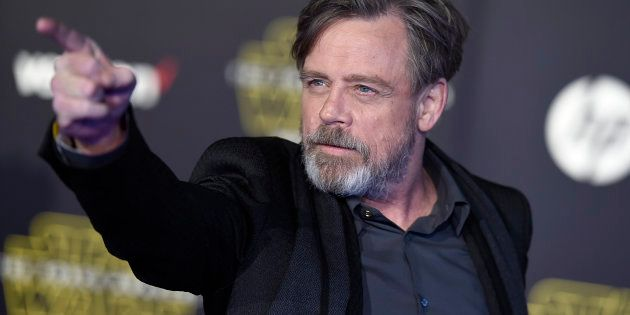 Actor Mark Hamill at the world premiere