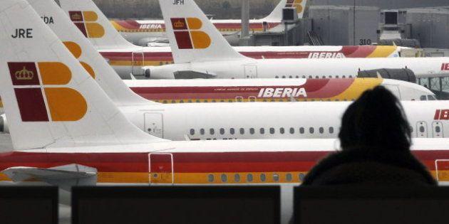 Afectados por la huelga de Iberia: