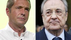 El tenso momento en directo entre Florentino Pérez y Manu
