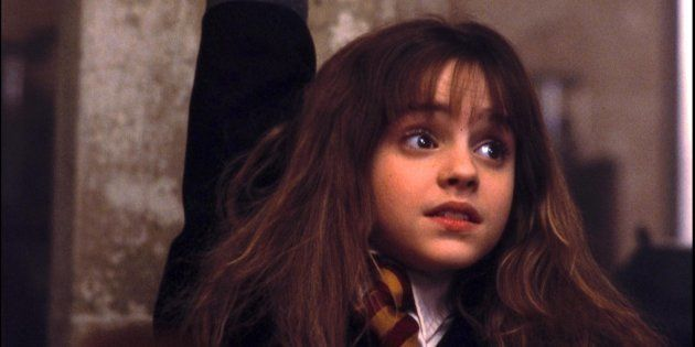 Hermione Granger (Emma Watson) en 'Harry Potter y la piedra