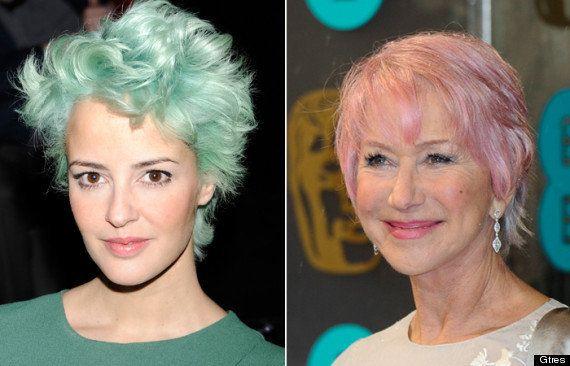 Pelo rosa, verde, azul...: las últimas famosas en apuntarse a la moda de pelo de colores