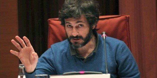 Oleguer Pujol, durante su declaración ante la llamada 'comisión Pujol' del Parlament de