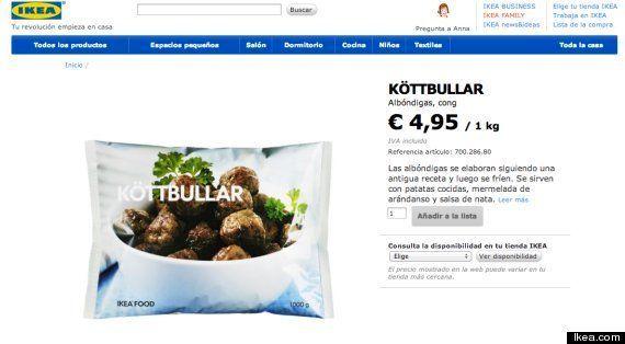 Halladas trazas de carne de caballo en alimentos de Ikea, La Cocinera y