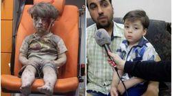 El régimen sirio muestra imágenes de Omran, el niño que representó el sufrimiento de los civiles en