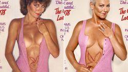 Siete mujeres recrean sus portadas de 'Playboy' 30 años