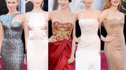La alfombra roja del glamour: todos los vestidos