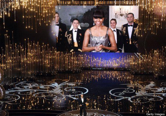 Michelle Obama: anuncia el Oscar a la mejor película a Argo