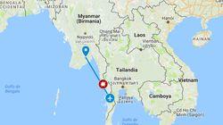 Desaparece un avión militar con 114 personas en el sureste de