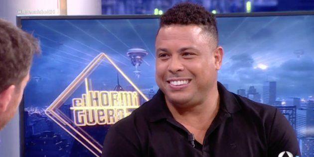 Ronaldo confiesa en 'El Hormiguero' que le dijo a Florentino Pérez: