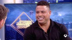 El comentario de Ronaldo Nazario sobre la mujer de Figo en 'El Hormiguero' que se ha vuelto