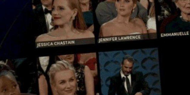 Caras de perdedores en los Oscar y otros momentazos de la gala, en gifs