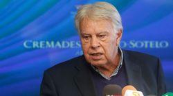 González no asistirá al congreso del PSOE que proclamará a