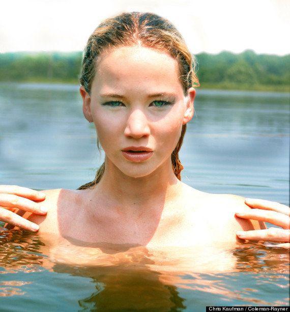 Jennifer Lawrence, modelo antes de actriz: FOTOS inéditas de cuando aún no era