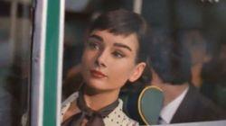 Audrey vuelve a la vida para venderte algo