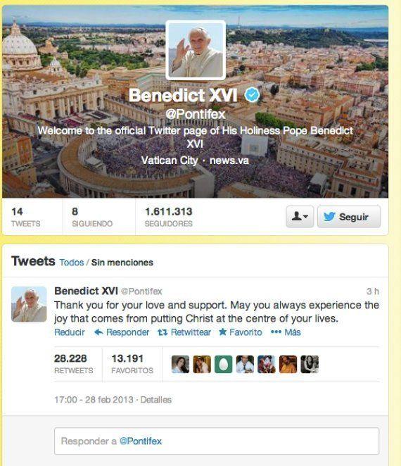 El nuevo papado empieza en Twitter: El Vaticano borra tuits de Benedicto