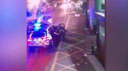 El vídeo del momento en el que la policía abate a los tres terroristas de