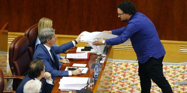 El portavoz del PP en la Comunidad de Madrid dice que en Podemos