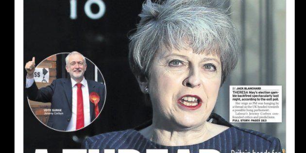 La portada del 'Daily Mirror' de este