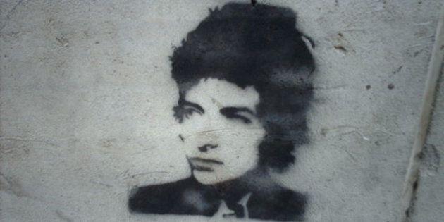 Graffiti de Bob Dylan en