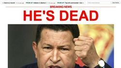 La muerte de Chávez, en los medios